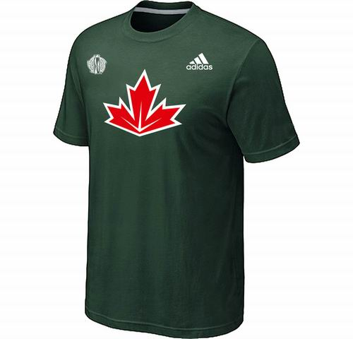 Canada Hockey D.Green 2016 World Cup of Hockey Primary Logo Ultimate climalite T-Shirt