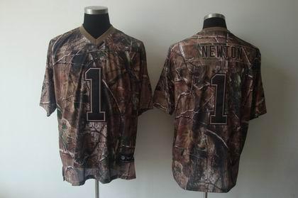 Carolina Panthers #1 Cam Newton realtree jerseys camo