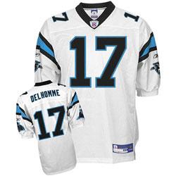 Carolina Panthers #17 Jake Delhomme White Jersey