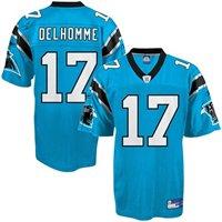 Carolina Panthers #17 Jake Delhomme blue Jersey