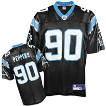 Carolina Panthers jerseys #90 Julius Peppers Team black Color Jersey