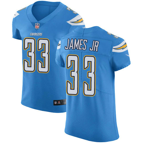 Chargers #33 Derwin James Jr Electric Blue Alternate Men's Stitched Football Vapor Untouchable Elite Jersey