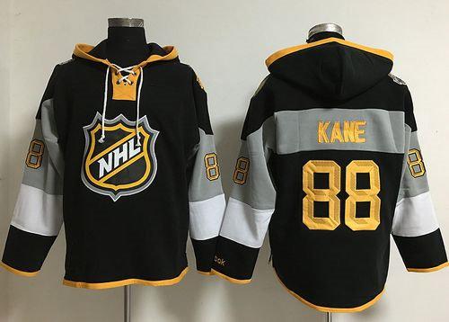 Chicago Blackhawks 88 Patrick Kane Black 2016 All Star NHL Hoodie