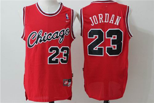 Chicago Bulls 23# Jordan red jersey