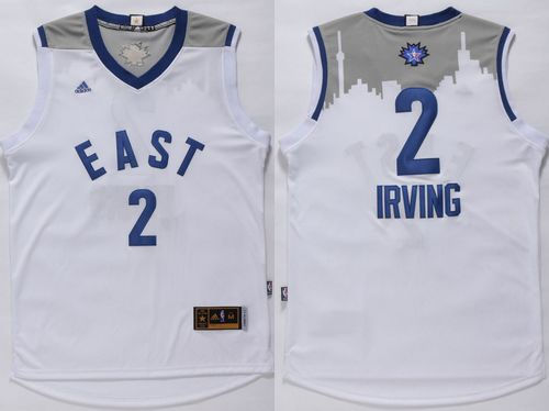Cleveland Cavaliers 2 Kyrie Irving White 2016 All Star NBA Jersey