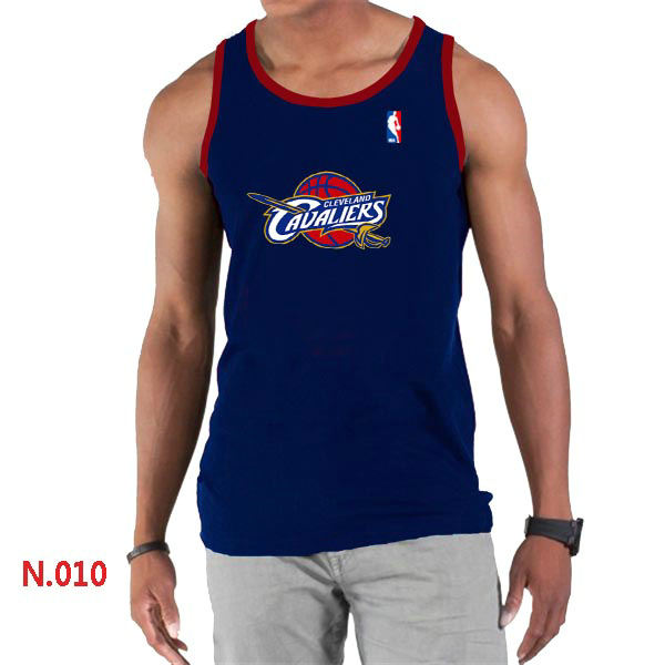 Cleveland Cavaliers Big Tall Primary Logo D.Blue Tank Top