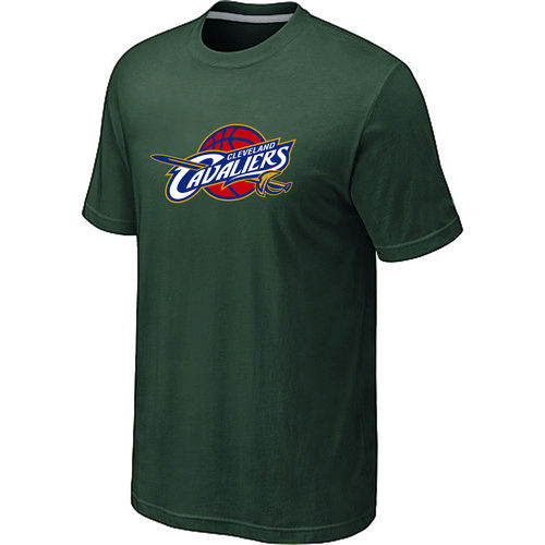 Cleveland Cavaliers Big Tall Primary Logo D.Green T Shirt