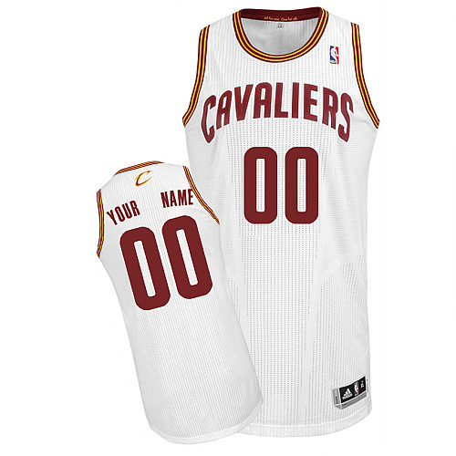 Cleveland Cavaliers Personalized custom White Jersey (S-3XL)