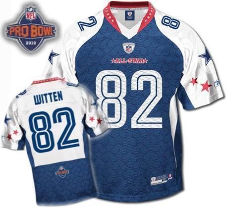 Dallas Cowboys #82 Jason Witten 2010 Pro Bowl