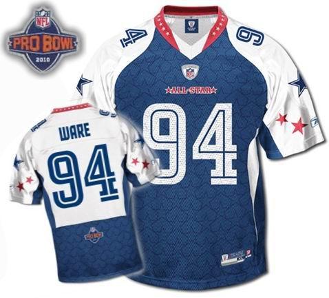 Dallas Cowboys #94 DeMarcus Ware 2010 Pro Bowl NFC