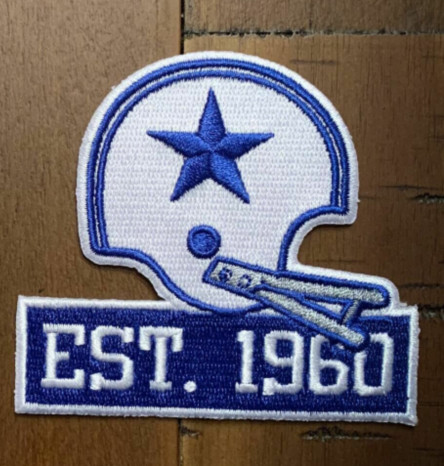 Dallas Cowboys Est. 1960 Patch