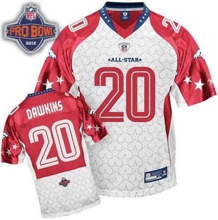 Denver Broncos #20 Brian Dawkins 2010 Pro Bowl AFC