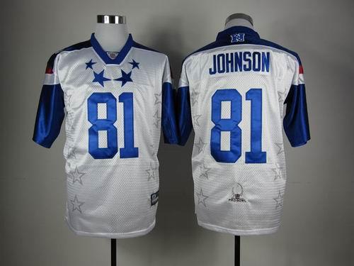 Detroit Lions 81 Calvin Johnson 2012 Pro Bowl NFC Jersey