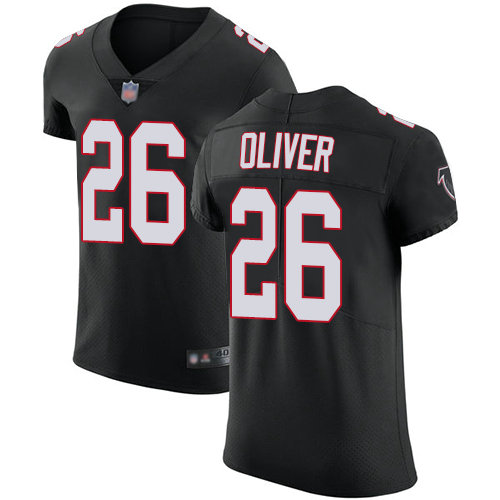 Falcons #26 Isaiah Oliver Black Alternate Men's Stitched Football Vapor Untouchable Elite Jersey