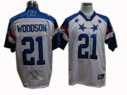 Green Bay Packers #21 Charles Woodson 2011 Pro Bowl NFC Jersey