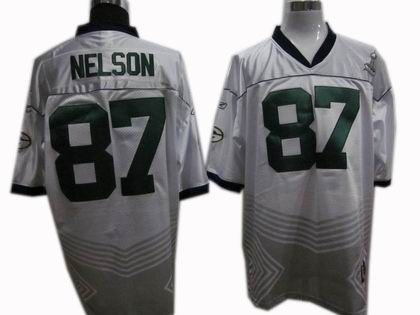 Green Bay Packers #87 Jordy Nelson 2011 champions fashion super bowl XLV jersey white