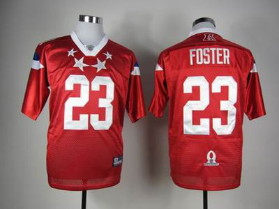Houston Texans #23 Arian Foster 2012 Pro Bowl AFC Jersey