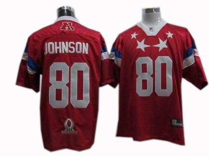 Houston Texans #80 A.Johnson 2011 Pro Bowl AFC Jersey