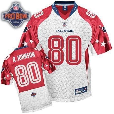 Houston Texans #80 Andre Johnson 2010 Pro Bowl AFC