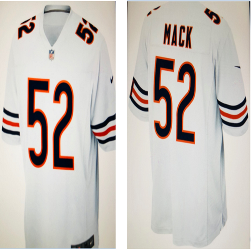 Kahlil MACK Chicago Bear white jersey