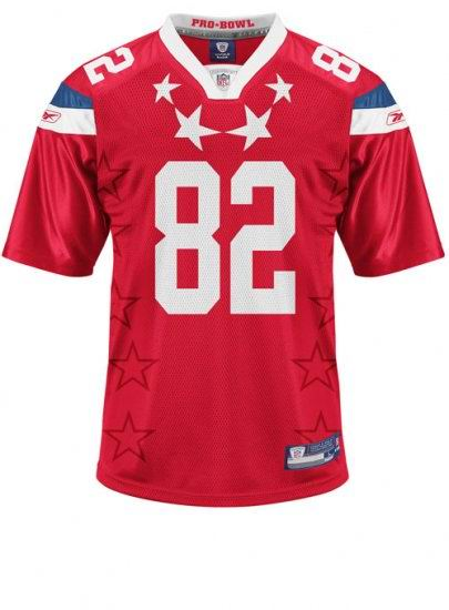Kansas City Chiefs #82 Dwayne Bowe 2011 Pro Bowl AFC Jersey