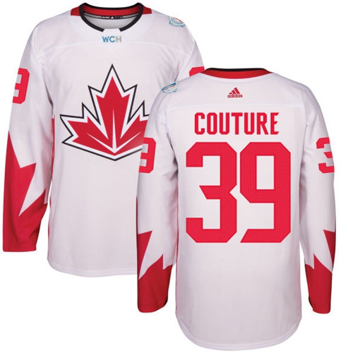 Kid Team Canada 39 Logan Couture White 2016 World Cup NHL Jersey