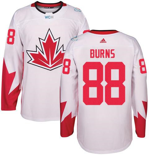 Kid Team Canada 88 Brent Burns White 2016 World Cup NHL Jersey