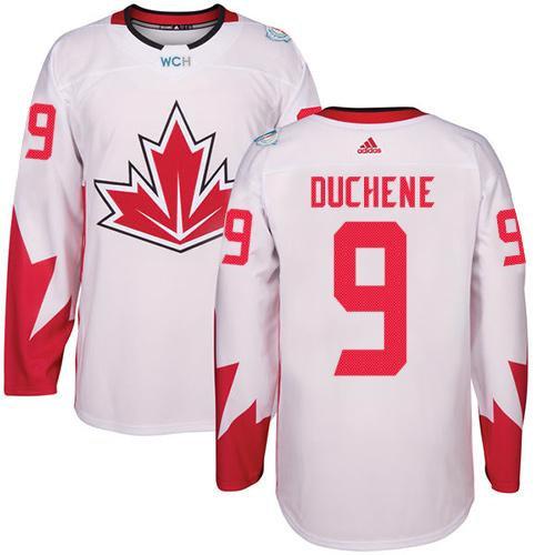 Kid Team Canada 9 Matt Duchene White 2016 World Cup NHL Jersey
