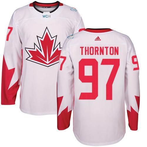 Kid Team Canada 97 Joe Thornton White 2016 World Cup NHL Jersey