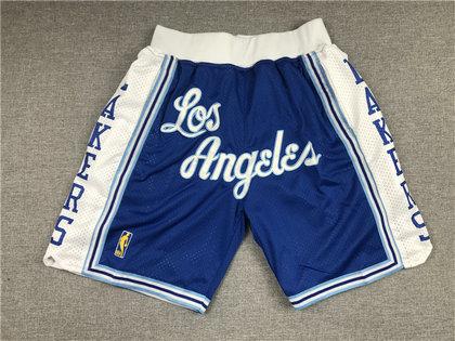 Lakers Teams Blue Just Don With Pocket Swingman Shorts