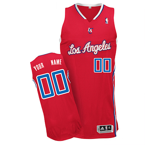 Los Angeles Clippers Personalized custom Red Jersey (S-3XL)
