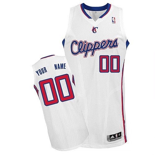 Los Angeles Clippers Personalized custom White Jersey (S-3XL)