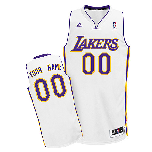 Los Angeles Lakers Revolution 30 personalized Custom Swingman Alternate Jersey