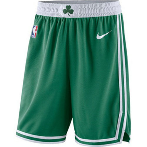 Men's Boston Celtics Nike Green Icon Swingman Basketball Shorts
