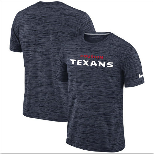 Men's Houston Texans Nike Navy Velocity Performance T-Shirt