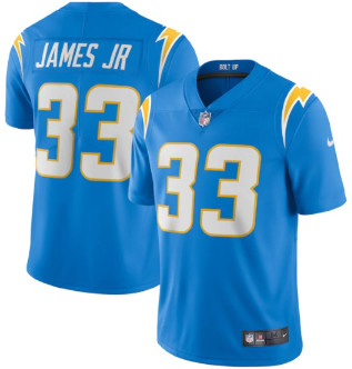 Men's Los Angeles Chargers #33 Derwin James Powder Blue Game Jersey