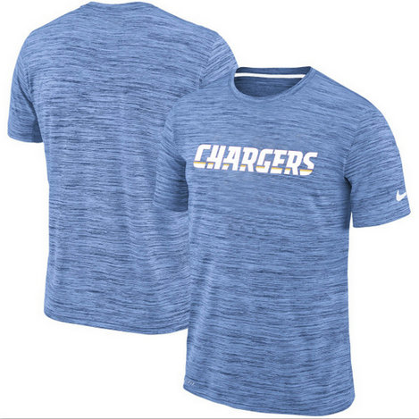 Men's Los Angeles Chargers Nike Blue Velocity Performance T-Shirt