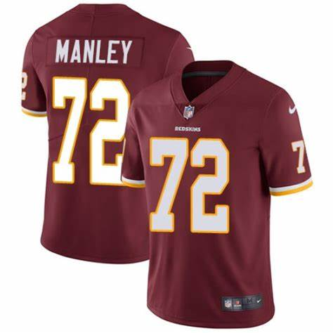 Men's Washington Redskins #72 Dexter Manley Limited Burgundy Team Color Vapor Untouchable Nike Jersey