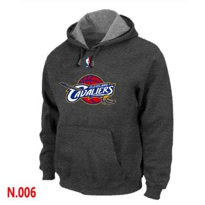 Mens Cleveland Cavaliers D.Grey Pullover Hoodie