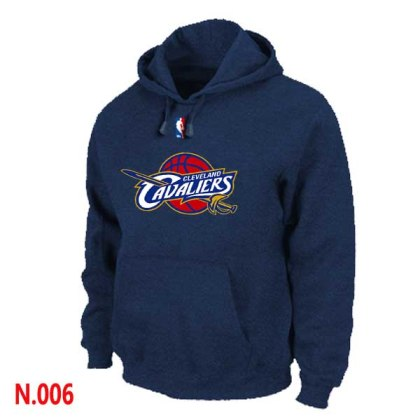 Mens Cleveland Cavaliers Navy Blue Pullover Hoodie