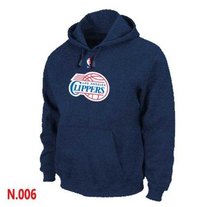 Mens Los Angeles Clippers Dark blue Pullover Hoodie