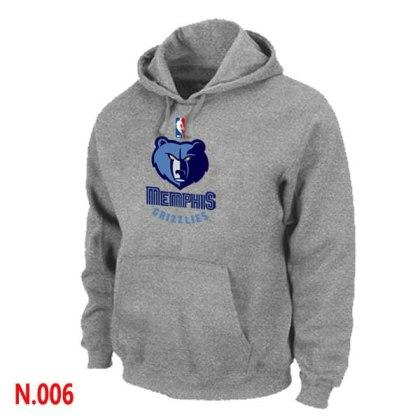 Mens Memphis Grizzlies L.Grey Pullover Hoodie