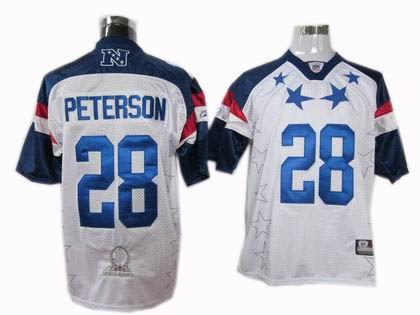 Minnesota Vikings #28 Adrian Peterson 2011 Pro Bowl NFC Jersey