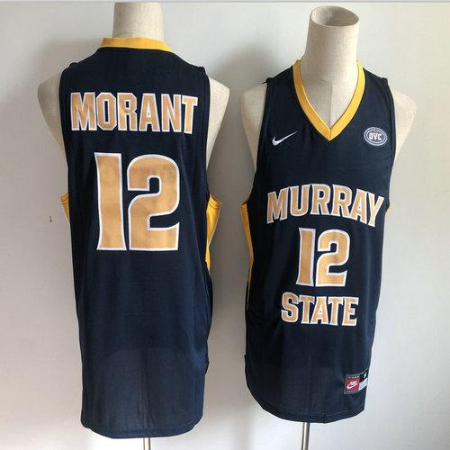 Murray State 12 Ja Morant Navy Nike College Basketball Jersey