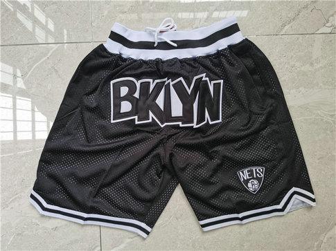 Nets Teams Black Just Don With Pocket Swingman Shorts