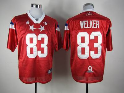 New England Patriots #83 Wes Welker 2012 Pro Bowl AFC Jersey