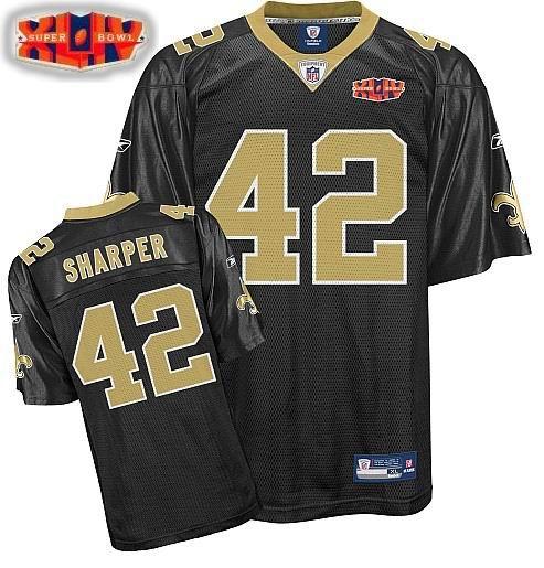 New Orleans Saints #42 Darren Sharper Super Bowl XLIV Team Color YOUTH Jersey