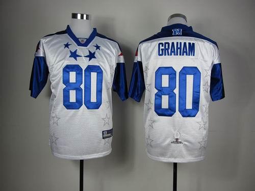 New Orleans Saints 80 Jimmy Graham 2012 Pro Bowl NFC Jersey