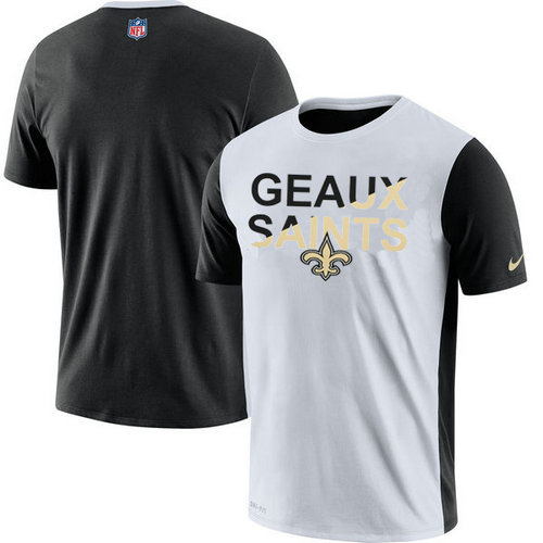 New Orleans Saints Nike Performance T-Shirt White