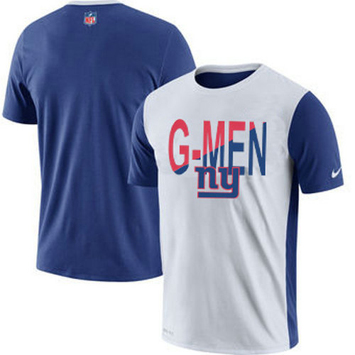 New York Giants Nike Performance T-Shirt White